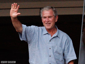 George W. Bush wants to help people 'Get Motivated!'.