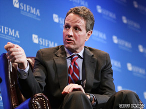Treasury Secretary Geithner said Tuesday that he expects funds paid out to major banks under the TARP program to come back to the federal government 'relatively quickly.'