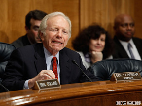 Sen. Lieberman said Tuesday that he opposes any kind of public health insurance option.
