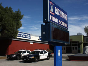 A 15-year-old girl was gang raped on the campus of Richmond High School in Northern California