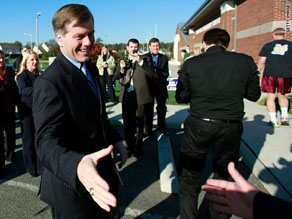 GOP candidate Bob McDonnell emerged victorious in the Virginia gubernatorial race.