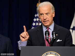 ice President Joe Biden heads to Michigan Monday to lend a helping hand to two freshman House Democrats.
