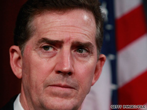 'Americans know real change in Washington will never happen until we end the era of permanent politicians,' Sen. Jim DeMint said in a statement.