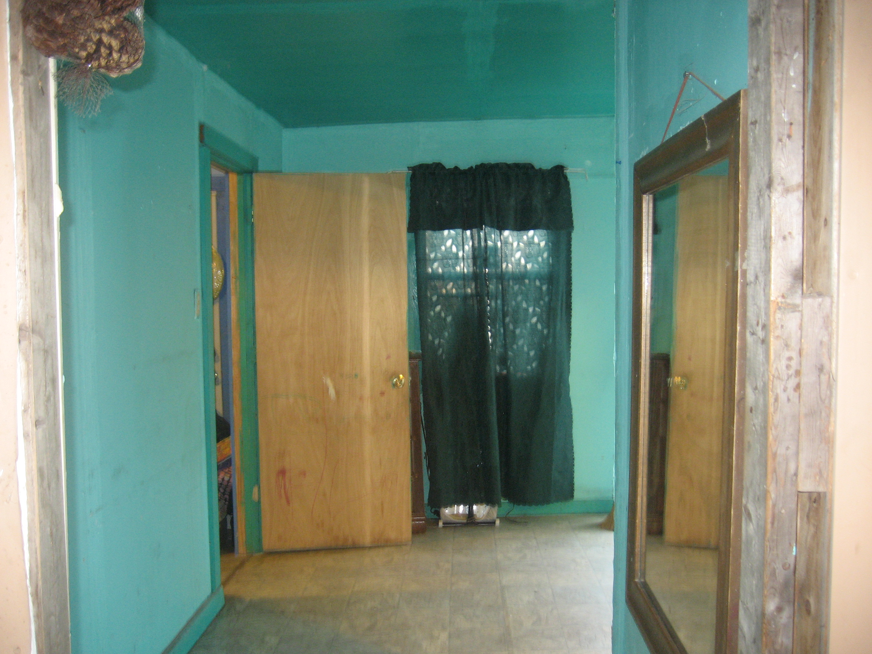 Interior of the new home which was donated by Estella Garza and her husband Sonny Fernandez.
