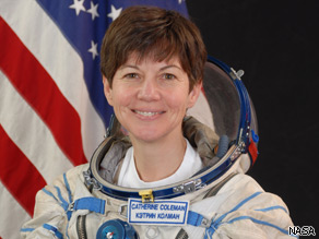 NASA astronaut ''Cady'' Coleman has logged over 500 hours in space.