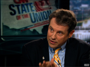 Sen. Brown said Sunday that he thinks key moderates in the Senate Democratic Caucus will decide they don't want to be on 'the wrong side of history.'