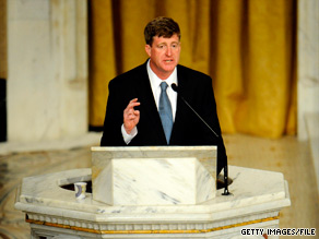 Rep. Patrick Kennedy, D-Rhode Island, will not seek re-election.