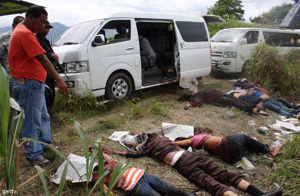 The Massacre in Maguindanao in the Philippines