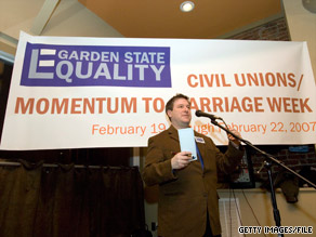 A bill that could legalize same-sex marriage comes up for debate in a New Jersey Senate committee Monday.