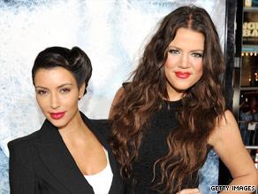 Kim (left) and Khloe Kardashian trash tv or reality stars?
