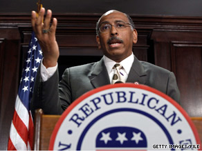 RNC Chairman Michael Steele said Tuesday that disagreements with Democrats over health care reform have 'nothing to do with the historic roots of slavery.'