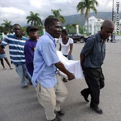 Haiti earthquake photo from cnn.com
