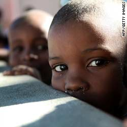 Haitian orphans rushed to new homes abroad