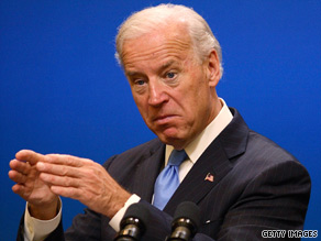 'The reports of our demise are premature,' Vice President Biden told Democratic insiders Tuesday.