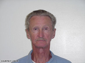 Gregory Powell, 76, will face a California state parole board tomorrow morning.