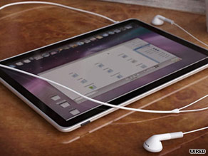 A look at what the new Apple tablet could look like.