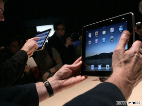 The Apple iPad has become the bunt of many jokes.