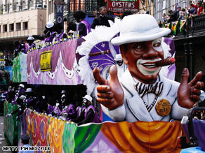 An open primary is scheduled for Saturday in New Orleans amidst Mardi Gras celebrations.