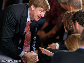 Rep. Patrick Kennedy will not seek re-election.
