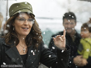 Sarah Palin spoke at a Arkansas fundraising event Tuesday.