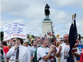 A CNN/Opinion Research Corporation survey released Wednesday profiles the Tea Party movement.