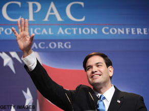 Marco Rubio opened CPAC Thursday with harsh attacks on the Obama administration.