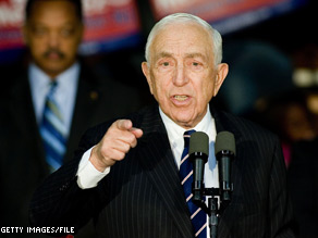 U.S. Sen. Frank Lautenberg, a New Jersey Democrat, has been diagnosed with stomach cancer, his office said in a statement Friday.