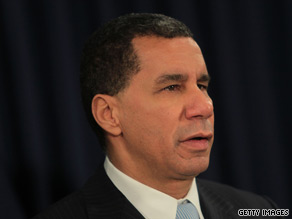 New York Gov. David Paterson said Monday he would not resign from office.