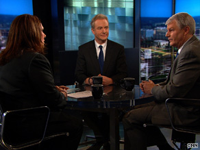Democratic Rep. Chris Van Hollen, center, said Sunday that his party does not currently have 'a mortal lock' on the necessary votes to pass health care reform in the House.