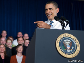 'The time for talk is over. It's time to vote,' President Obama said Wednesday in Missouri.
