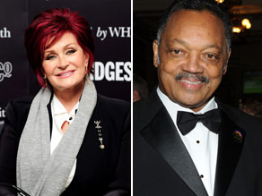 Can you connect Sharon Osbourne to Jesse Jackson?
