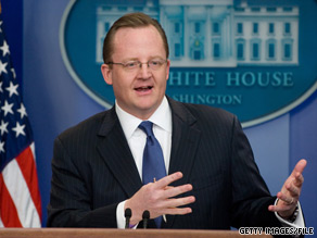 Robert Gibbs faced questions Tuesday about a new strategy to pass health care in the House.