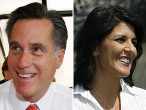 Mitt Romney picked a side in the South Carolina Republican gubernatorial primary and is backing state Rep. Nikki Haley.