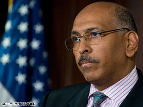Michael Steele released a statement Thursday condemning acts of violence.