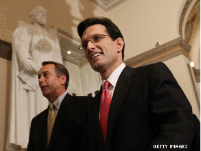 'Cantor's staff said he was happy to find out that police attributed the incident to random gunfire.