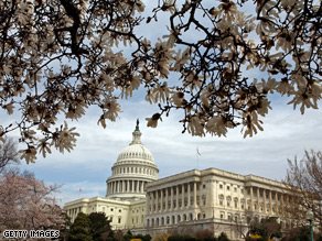 The Senate left for recess before taking up the Continuing Extension Act of 2010.