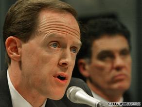 Pat Toomey's campaign announced Monday that he has more than $4 million on hand.