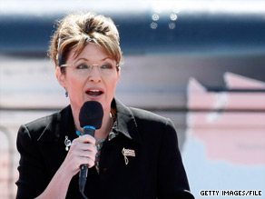 Sarah Palin told Sean Hannity Wednesday that she supports RNC Chairman Michael Steele.