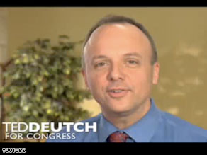 Democrat Ted Deutch easily defeated his Republican opponent Tuesday night in a Florida special election.