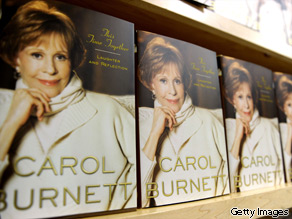 Carol Burnett's book ''This Time Together: Laughter and Reflection'' is seen on display in New York City.