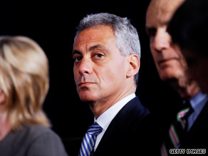 White House Chief of Staff Rahm Emanuel said Monday that one day, he'd like to be mayor of Chicago.