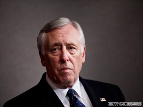 House Majority Leader Steny Hoyer said Tuesday he remains optimistic about Democrats' chances in November.