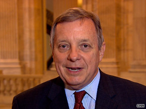Sen. Dick Durbin told CNN on Monday that 'the filibusters have to end.'