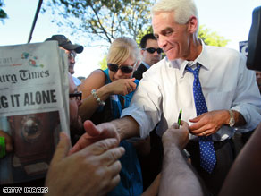 Florida Gov. Charlie Crist announced Thursday that he will run for the United States Senate as an independent rather than a Republican.