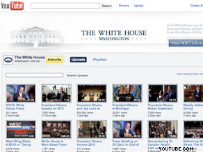 In total, White House YouTube videos have been viewed over 25 million times.