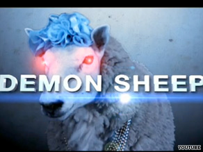A new Web video features an encore appearance for 'demon sheep.'