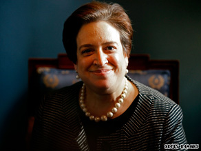 Recently released documents  reveal Elena Kagan's funny side, as well as a serious streak.
