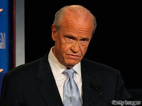 Former U.S Senator Fred Thompson has written a new book, ''Teaching the Pig to Dance.''