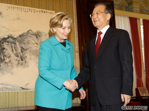Chinese Premier Wen Jiabao called his two-day dialogue with Secretary of State Clinton a 'success.'