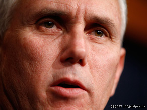 Rep. Mike Pence appeared Tuesday on CNN's American Morning to talk about a new Republican initiative being announced later in the day.
